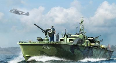 U.S. Navy Elco 80' Motor Patrol Boat, Late Type w/ Free AK Interactive Pain
