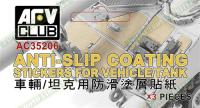 Anti-slip Coating Stickers for Vehicles/Tanks