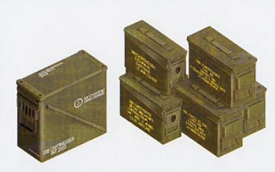1:35 CAL 30/CAL. 50/40MM Ammo Box