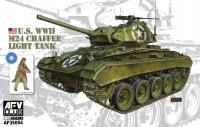 1/35 U.S. WWII M24 Chaffee Light Tank