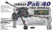 1:35 German PAK40 76mm Gun