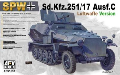 1:35 Sd.Kfz.251/17 Ausf. C. Luftwaffee Version