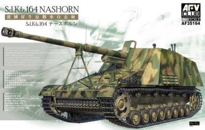 1:35 AFV Club Sd.Kfz 164 NASHORN Model Kit