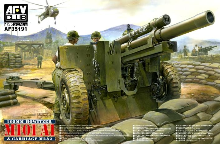 1:35 105mm Howitzer M101A1 & Carriage M2A2