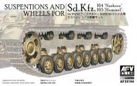 1/35 Suspension & Wheels for Sd.Kfz.164 & Sd.Kfz.165