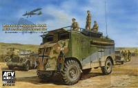 1/35 Rommels's Mammoth DAK AEC Armored Cammand Car (Full Interior)
