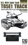 T85E1 TRACK for U.S. M24 Light Tank (Workable)