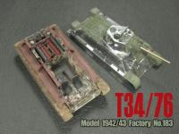 1:35 AFV Club Russian T-34 / 76 Tank with Full Interior