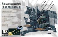 1:35 AFV Club 4X2cm Flakvierling 38 (LIMITED)