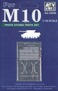 1:35 M10 Etching Parts