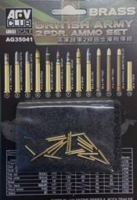 1/35 British army 2pdr Ammo(Brass) set