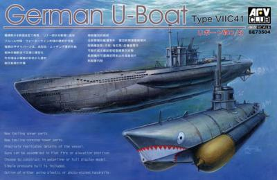 1:350 German U-Boat Type VIIC41