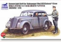 "1/35 GERMAN LIGHT STAFF CAR ""STABSWAGEN"