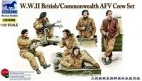 1/35 WWII BRITISH/COMMONWEALTH AFV CREW SET