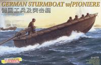 1:35 German Sturmboat with Pioniere