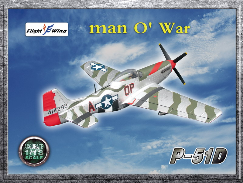 "WWII USAF, 4th Fighter Group, ""Man O War"""