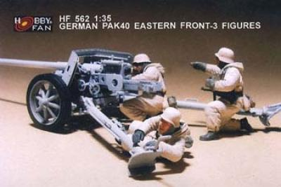 1:35  German PAK40 Eastern Front 3 Figures