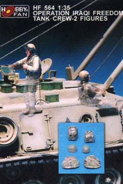 1:35  Operation Iraqi Freedom Tank Crew-2 Figures