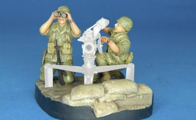 1:35 U.S. Army 106mm Gun Crew (V.N. WAR) -2 FIGS