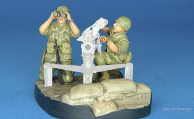 1/35 HF704 U.S. Army 106mm Gun Crew(V.N. War)