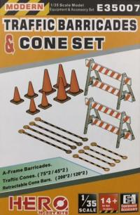 1/35 Traffic Barricade and Cones