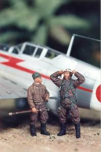 1/48 WWII Japanese Pilots (2)