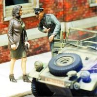 1/35 At your service, Officer and Woman