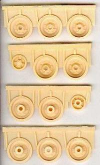 1/35 CROMWELL WHEELS