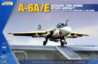 1/48 A-6A/E Intruder Twin-Engine Attack Aircraft (Metal Wing)