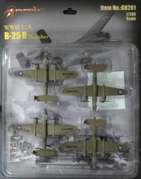 1/200 WWII B-25 Bomber