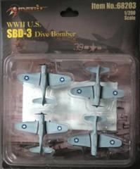 1/200 WWII SBD-3 Fighter Planes