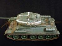 1:16 WWII Soviet T34/85, Kurland, Eastern Front, 1944