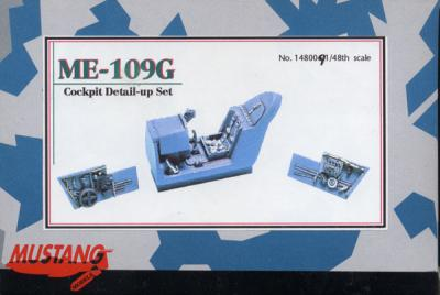 1:48 Mustang ME-109G Messerschmit Cockpit Detail-up Set