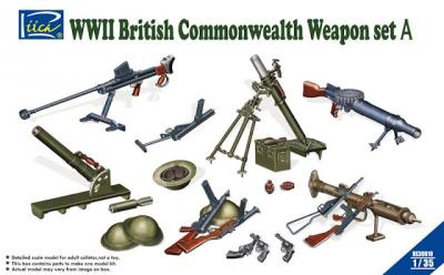 WWII British Commonwealth Weapons Set A