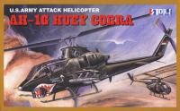 1:48 US Army Attack Helicopter AH-1G Huey Cobra