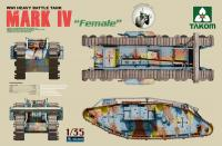 WWI Heavy Battle Tank MARK IV Female
