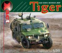 1/32 GAZ-233014 Russian 4 x 4 Tiger