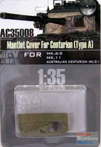 1:35 Mantlet Cover For Centurion (Type A)