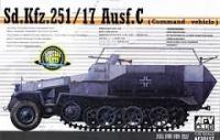 1/35 Sd.Kfz.251/17 Ausf.C (Commander Vehicle