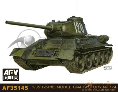 1/35 T-34-85 Model 1944/1945 Production Factory  NO.1