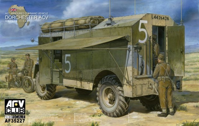"1/35 AEC ""Dorchester"" Armoured Command Vehicle"
