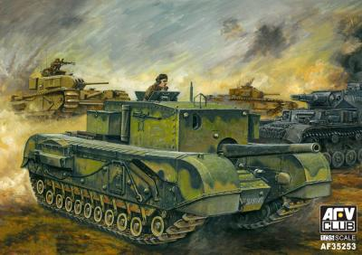1/35 British 3in gun Churchill Tank