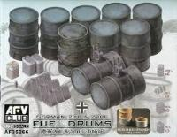 1/35 German 20L and 200L Fuel drums
