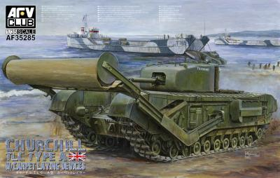 1/35 Churchill Mk.IV TLC TYPE-A (w/Carpet laying devices)