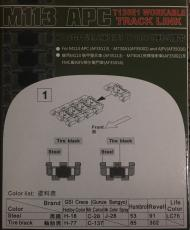 1/35 M113 APC T130E1 Workable Track links