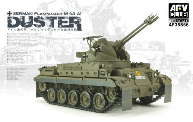 "1/35 German Flakpanzer M-42 A1 ""Duster"" by AFV"