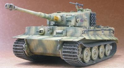1:48 Tiger I Panzerkampfwagen VI Sd.Kfz. 181 Latest Version