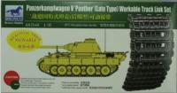 1/35 PANTHER (LATE TYPE) WORKABLE TRACK LINK SET