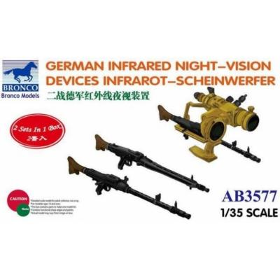 1/35 GERMAN INFRARED NIGHT-VISION DEVICES (BRONCO)