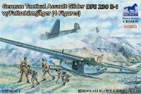 1/35 GERMAN TACTICAL ASSAULT GLIDER DFS 230 B-1 W/FALLSCHIRM